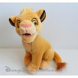 Peluche lion Simba DISNEYLAND Le Roi Lion bébé enfant 25 cm