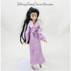Mini muñeca DISNEY Jasmine Vestido púrpura aplausos 27 cm