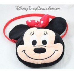 Bag plush NICOTOY Disney Minnie face 26 cm