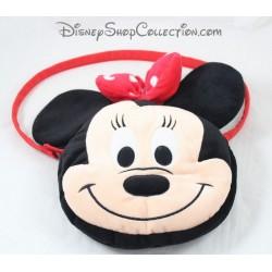 Tasche Plüsch NICOTOY Disney Minnie Gesicht 26 cm