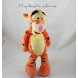 Peluche Tigrou NICOTOY Disney classique orange noir 36 cm