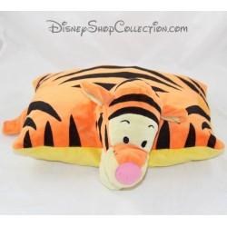 Peluche coussin Tigrou DISNEYLAND PARIS pillow pets orange Disney 24 cm