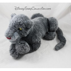 Plush Bagheera DISNEYLAND PARIS jungle Panther book gray 35 cm