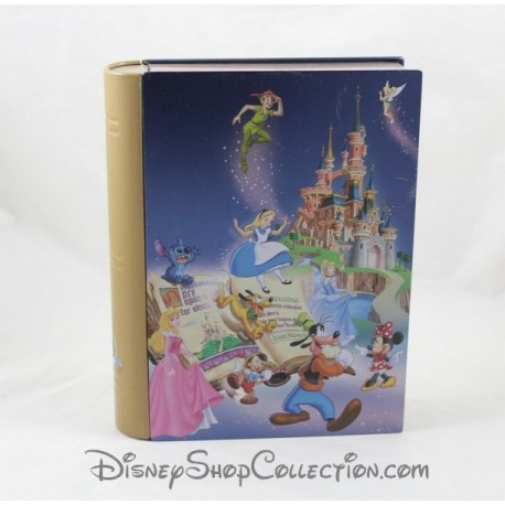 DISNEYLAND PARIS effect book 15 Magical Years Disney 20 cm tin box