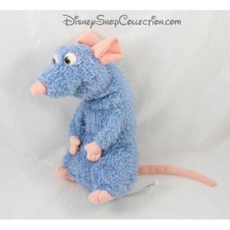 Peluche parlante Rémy rat DISNEY MATTEL Ratatouille bleu 25 cm
