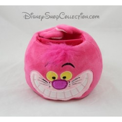 Pot à crayon chat Cheshire DISNEYLAND PARIS Alice au pays des Merveilles rose Disney 12 cm