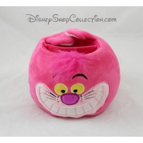 Pot à crayon chat Cheshire DISNEYLAND PARIS Alice au pays des Merveilles rose Disney 12 cm