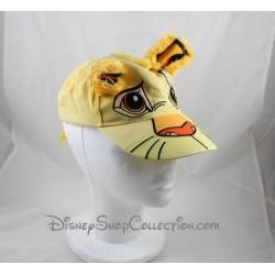 Casquette lion Simba DISNEYLAND PARIS Le Roi Lion jaune Disney taille enfant
