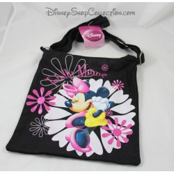 Sling bag Totally Minnie DISNEY black pink canvas