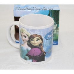Mug DISNEY Elsa and Anna Frozen ceramic Cup snow Queen