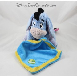 Plush Eeyore DISNEY PTS SRL pot blue handkerchief honeymoon 22 cm