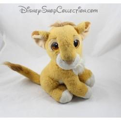 Peluche lion Simba MATTEL Disney Authentic Le Roi Lion vintage 25 cm