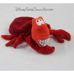 Peluche Sébastien DISNEYLAND crabe La Petite Sirène Ariel 22 cm