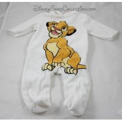 Pyjama velours lion Simba DISNEY BABY Le Roi lion dors bien velours bébé 3 mois