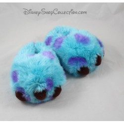 Slippers Sully DISNEYLAND PARIS monsters & co. blue purple size 22/23