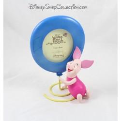 Cadre photo résine Porcinet DISNEY STORE Winnie l'ourson ballon bleu