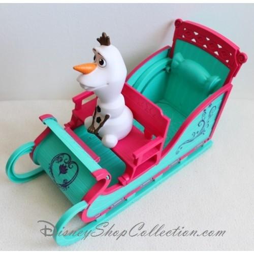 Traineau la reine des neiges disney avec olaf 30 cm - Olaf de la reine des neige ...