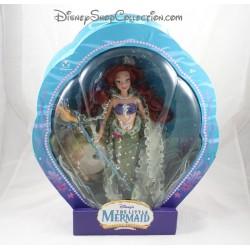 Doll Ariel DISNEY STORE Little Mermaid shell RARE special edition 2006