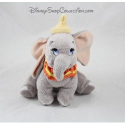 Gray collar elephant Dumbo DISNEY NICOTOY plush yellow orange 19 cm