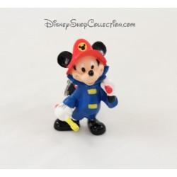 Keyring DISNEY Mickey fireman figurine 8 cm pvc