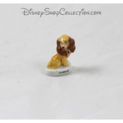 Dog bean Lady DISNEY Lady and the tramp ceramic 3 cm