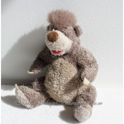Peluche ours Baloo DISNEY STORE Le livre de la jungle 19 cm