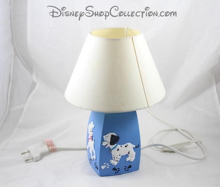 De 30 Cm 101 Lampe Dalmatiens Disne Chevet Les Chiens Disney Bleu jLq3AR54