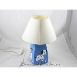 Lampe de chevet chiens DISNEY Les 101 dalmatiens bleu 30 cm