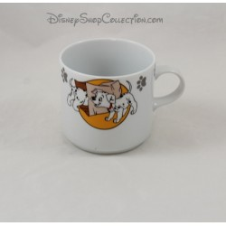 Mug chiens DISNEY Les 101 Dalmatiens tasse Guy Degrenne porcelaine 9 cm