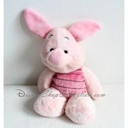 Peluche Porcinet DISNEY microbilles cochon rose 21 cm