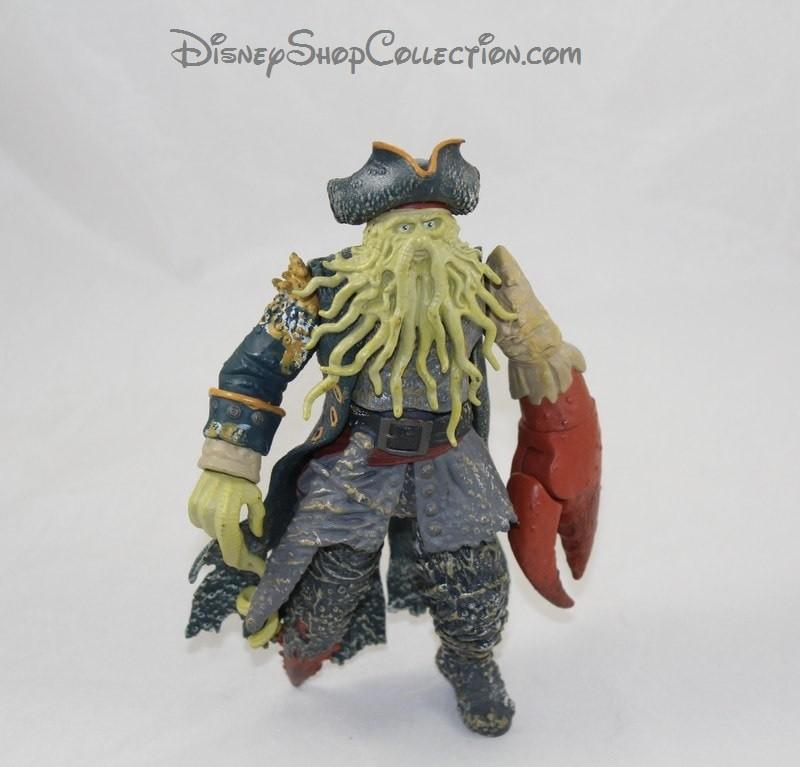 Piratas Del Caribe Davy Jones 20 Zizzle Disney Articulan Estatuilla