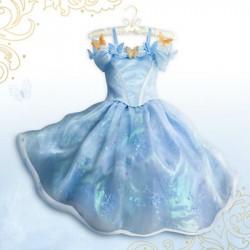 Déguisement robe Cendrillon DISNEY STORE Cinderella Live Action costume édition limité 10 ans