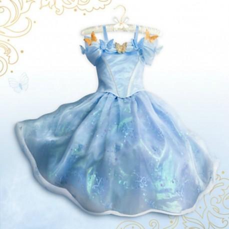 Deguisement Robe Cendrillon Disney Store Cinderella Live Action Cos