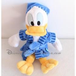 Peluche Donald DISNEY peignoir bleu Nicotoy 28 cm