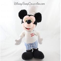 Peluche Mickey DISNEY Chef Mickey toque vintage 40 cm