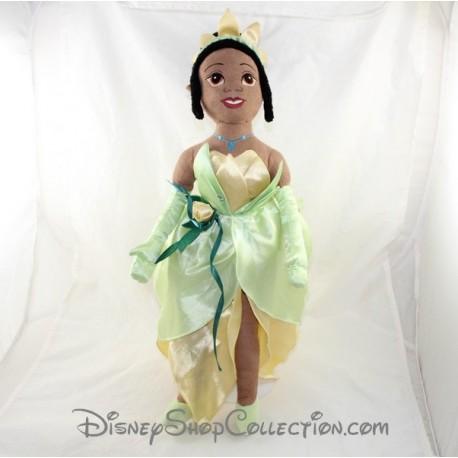 Muñeca peluche DISNEY princesa Tiana y el sapo 52 cm