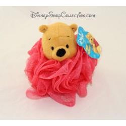 Esponja de baño flor ducha Pooh DISNEY rosa