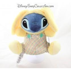 Peluche Stitch DISNEY STORE spécial Pâques lapin 28 cm