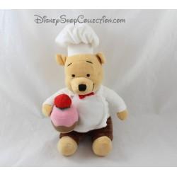 Plush Winnie the Pooh DISNEY STORE 25 cm cake pastry chef