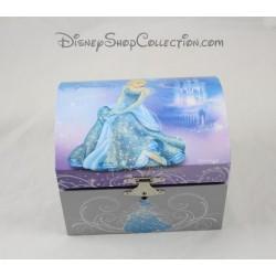 Boite à bijoux musicale DISNEY Cendrillon bleue 9 cm