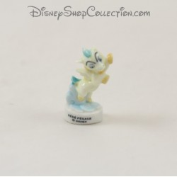Bebé de frijol caballo Pegasus DISNEY Hercules blanco azul 4 cm