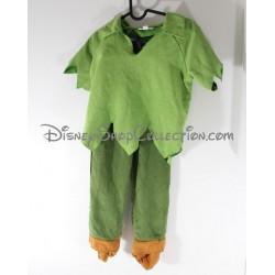 Déguisement petit garçon DISNEYLAND PARIS Peter Pan costume vert Disney 6 ans