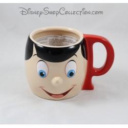 Mug Cup boy DISNEY STORE Pinocchio ceramic relief 3D 9 cm