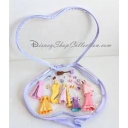 Figurine Raiponce DISNEYLAND valisette 6 tenues playset Disney