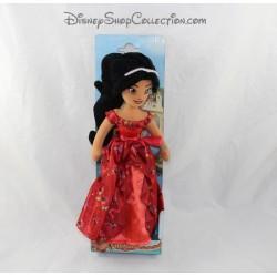 Plush doll DISNEY NICOTOY Avalor Elena dress evening 30 cm