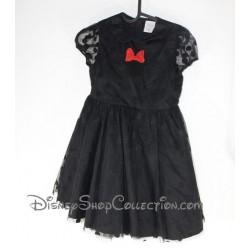 Negro de Minnie Mouse DISNEY STORE Vestido de noche 9-10 años