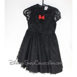 Robe de soirée Minnie Mouse DISNEY STORE noire 9 - 10 ans