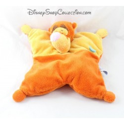 Doudou semi plat Tigrou DISNEY BABY orange