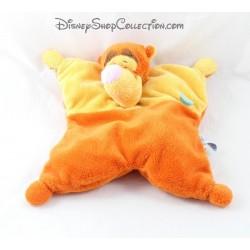Doudou semi plat Tigrou DISNEY BABY orange