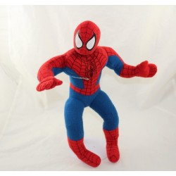 Peluche Spiderman PLAY BY PLAY Marvel l'homme araignée rouge bleu 35 cm